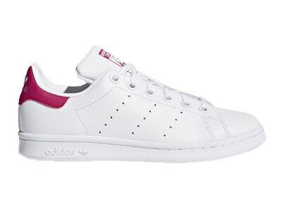 the latest c2289 b465c Neu Damenschuhe Jungen Sneakers Trainers ADIDAS STAN SMITH J B32703   eBay
