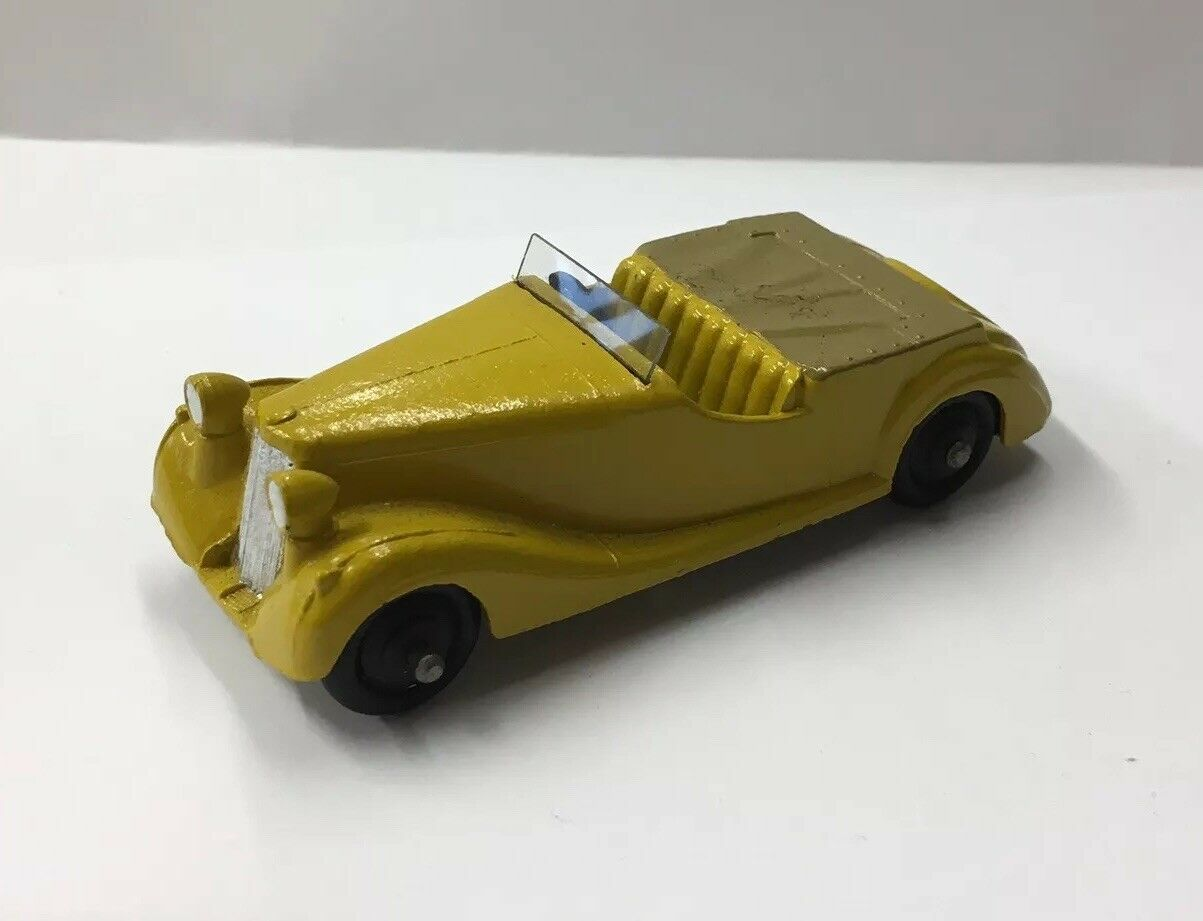 Vintage Dinky Toys Sunbeam Talbot Mecano Restored  Repainted 9cm In Length