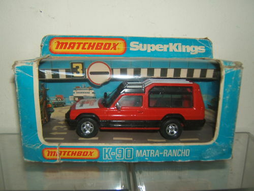 MATCHBOX SUPERKINGS MODEL No.K-90 MATRA -RANCHO VN MIB