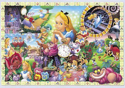 Tenyo Japan Jigsaw Puzzle D-108-966 Disney Alice in Wonderland (108 Pieces)