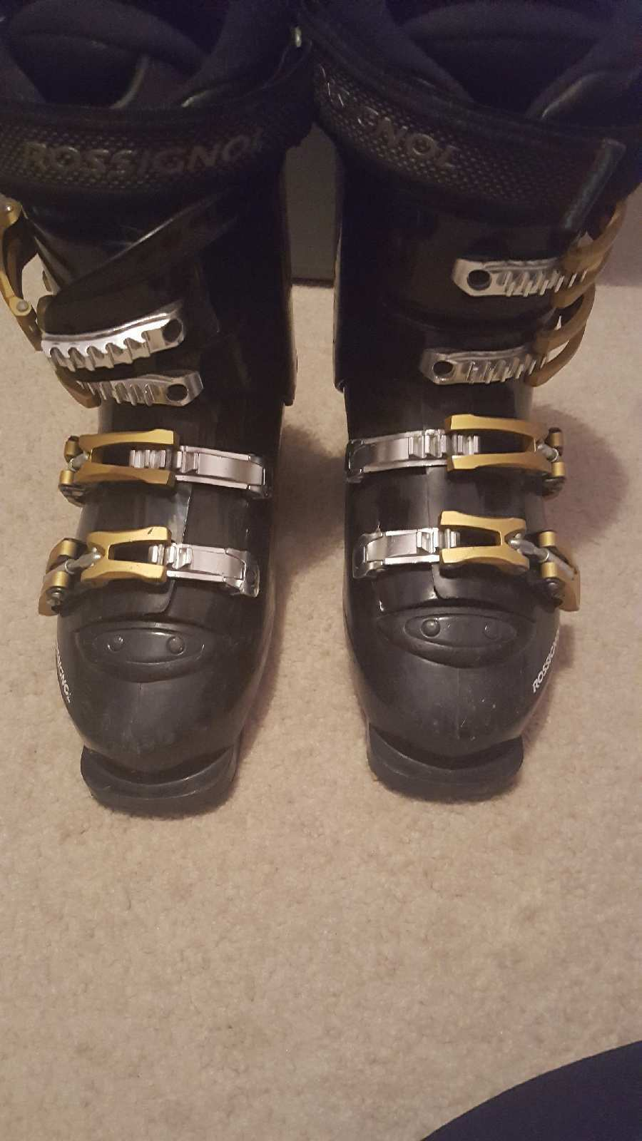 Mens Rossignol Comp Pro Thermo Fit Ski Boots Size 7.5 8 (25.5 centimeters)