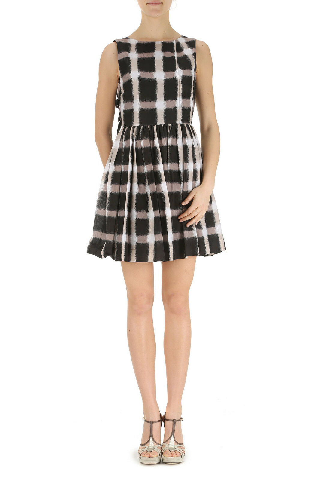 Marc av Marc Jacobs Plaid Dress, dimsyn Gingham Voile Dress