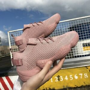 Womens-Air-Cushion-Slip-On-Mesh-Casual-Shoes-Breathable-Walking-Outdoor-Sneaker
