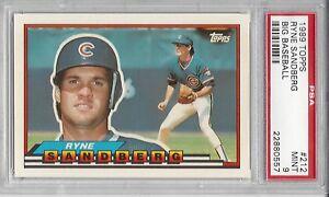 Details About 1989 Topps Big Baseball 212 Ryne Sandberg Psa 9 Hof