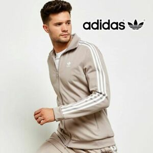 Details zu Adidas Originals Mens SST Mesh Track Top Full Zip Jacket CD7594 Brown