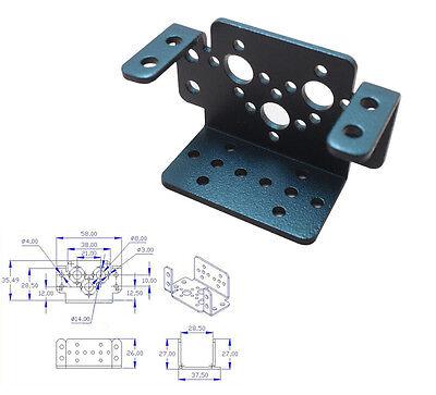 Black Multifunctional Bracket Bipedal Robot Bracket Steering Gear Bracket Hot201