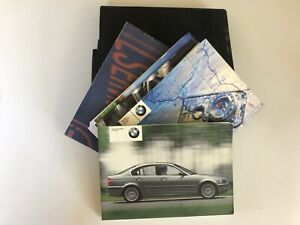 Bmw Owners Manual Book Pack Bmw 3 Series E46 Saloon 9 Ebay