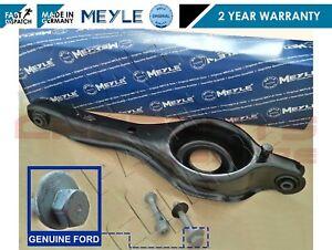 Para-Ford-Focus-MK2-Trasero-Brazo-De-Control-De-Suspension-Horquilla-amp-Pernos-Meyle-Alemania