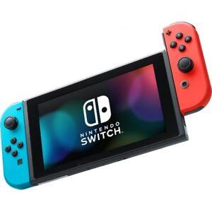 Nintendo-Switch-Spielkonsole-neon-rot-neon-blau-Konsole-32GB-WLAN