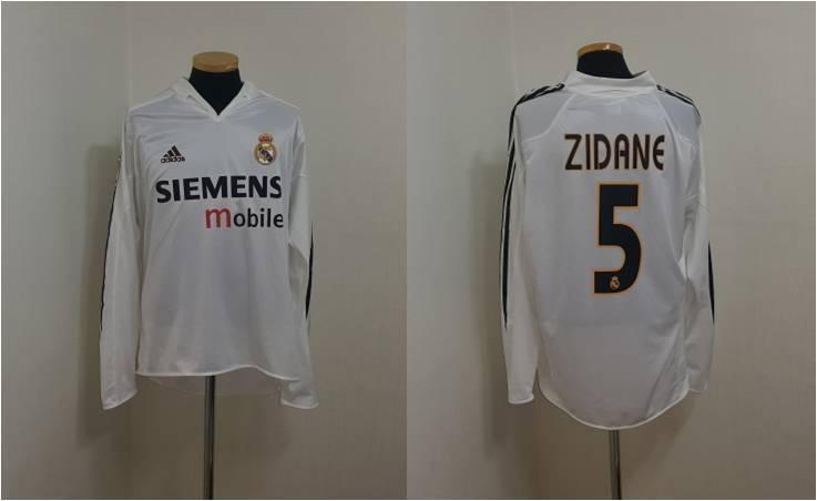 (L) Camiseta Jersey Real Madrid Zidane Juventus Francia Maillot Maglia Italia España