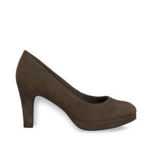 Details zu Tamaris 1 1 22403 25 324 Schuhe Damen Leder Pumps Sinis pepper khaki braun