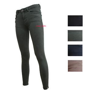 7779d31075f7 Image is loading Jeans-woman-pants-5-Pockets-Tight-Trousers-Skinny-