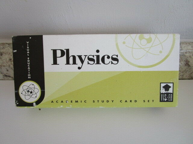 Visual Education Physics Study Card Set Flashcards