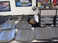 97 30th Anniversary Camaro seat covers & door panel inserts in Medium Gray color