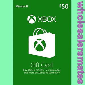 Xbox-Live-50-USD-50-Guthaben-Karte-Xbox-One-360-Gift-Card-Code-fuer-US-Store