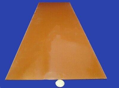 "Garolite Micarta Paper Phenolic XX Grade Sheet  .063/"" 6 Unit x 12/"" x 24/"" 1//16"