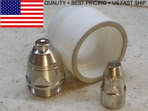 P80 Plasma Torch 80A Consumables 22 Pc Set 1.3mm Nozzles P-80 *FAST US SHIP*
