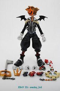 SQUARE ENIX Play Arts Kai Kingdom Hearts 2: Sora Halloween Town ...
