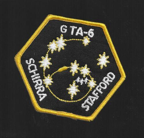GEMINI-GTA-6-SCHIRRA-STAFFORD-WILLABEE-amp-WARD-OFFICIAL-SPACE-PATCH-3-034-NASA