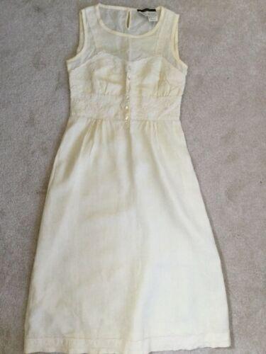Weekend MaxMara SZ 4 US Buttery Yellow Dress 100%