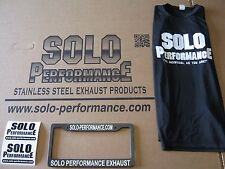 Smart Car Exhaust Side Exit  Performance Stainless Steel By Solo Performance