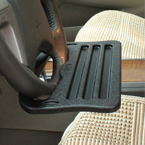 ABS Black 300×175mm Multi-function Car Steering Wheel Table Tablet Stander Tray