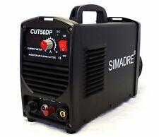 "Simadre Plasma Cutter Pilot Arc 50 Amp Dual Voltage 110/220V 1/2"" Clean Cut Easy"