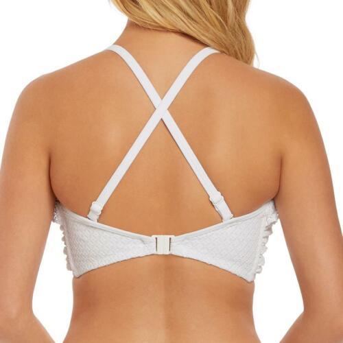 Freya Swimwear Bohemia Bandeau Padded Bikini Top White 2971