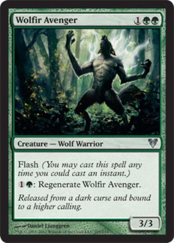 Avacyn Restored LP 4 Wolfir Avenger FAST SHIPPING x4 4x