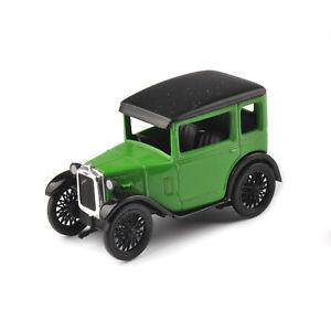 Austin-Siete-Aleacion-de-escala-1-43-Diecast-Coche-Clasico-Verde-vehiculos-modelo-rn-Berlina
