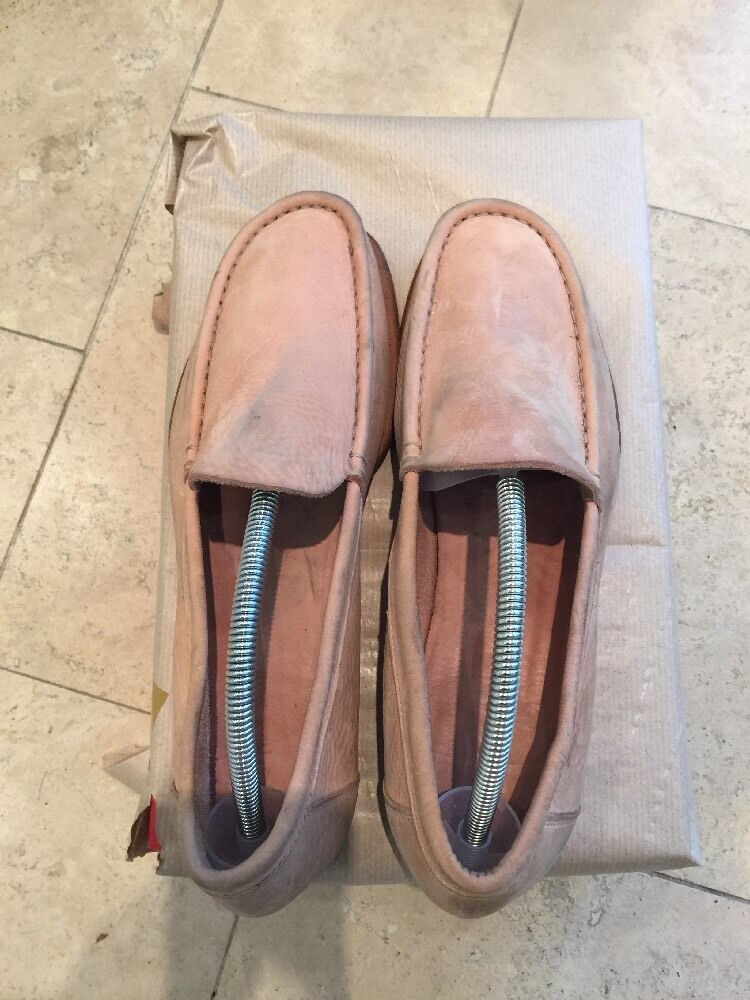 Paul Smith Men's Off Pink Slip On shoes