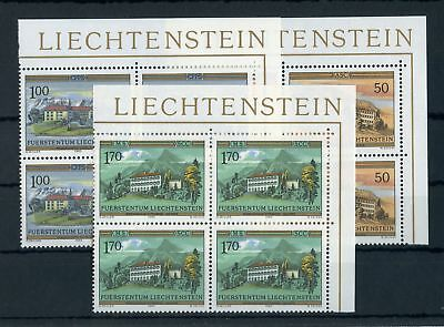 Liechtenstein Nr.868-870 ** Eckrand-vb R.o KlÖster !!! - Orden 126206