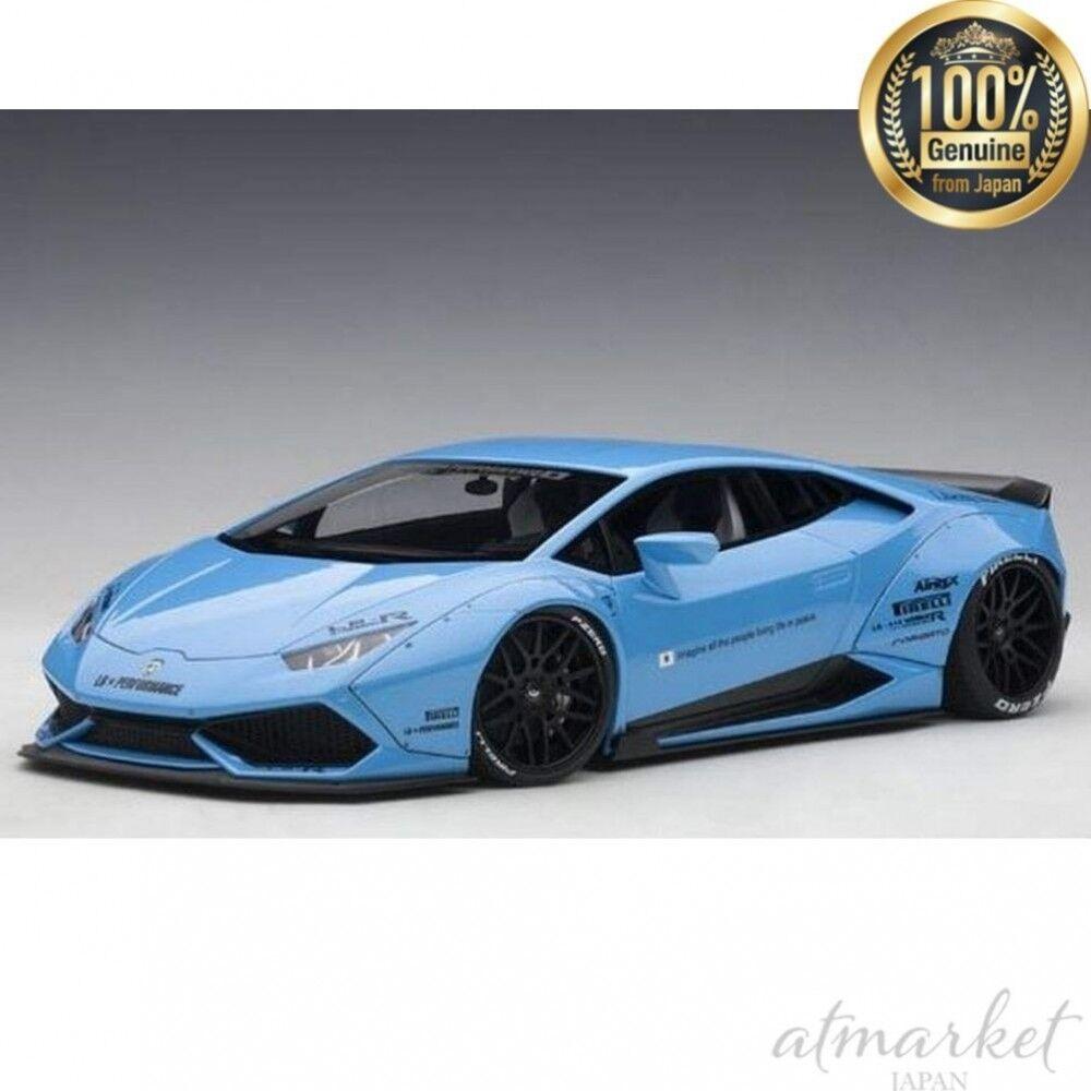 Autoart 79122 1 18 Liberté Promener Lb-Works Lamborghini Urakan Métal Bleu Ciel