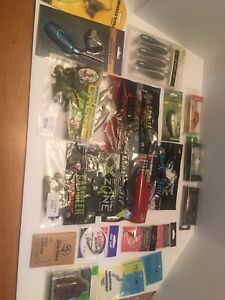 Fishing Lures And Hooks Lot Bass 21 Kinds