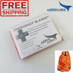 Emergency-Space-PREMIUM-Blankets-Hiking-Camping-Survival-Rescue-First-Aid