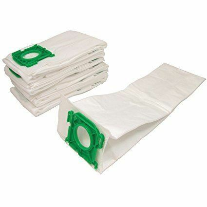 Pack of 10 Qualtex Hygienic Multi-Layer Microfibre SEBO Dust Bags