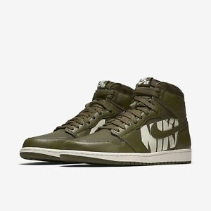 37cbd9a886f Nike Air Jordan 1 Retro High OG size 9. OLIVE Green Sail. Canvas ...