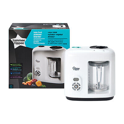 Tommee Tippee Healthy Baby Food Maker Electric Steamer Blenderprocessor Cooker Ebay