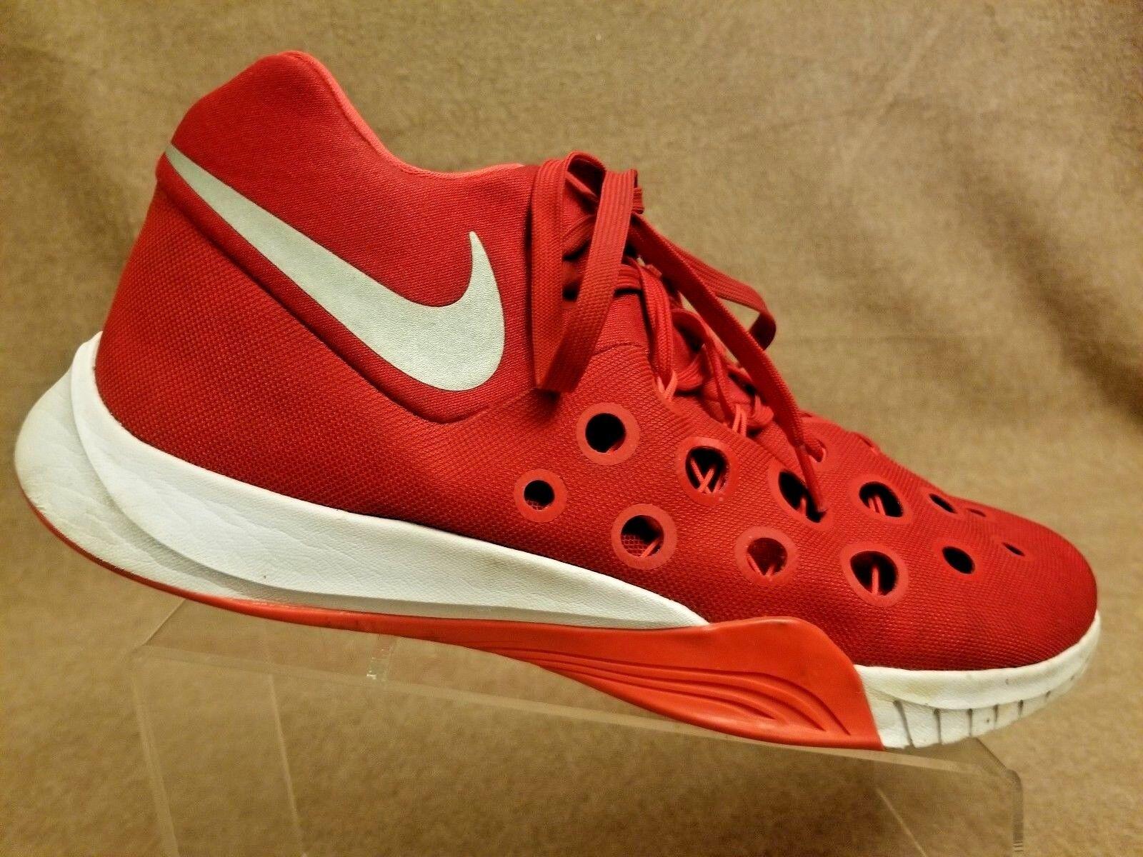 Nike zoom hyperquickness 3 basket uomini scarpe university red 749883-606 sz 13