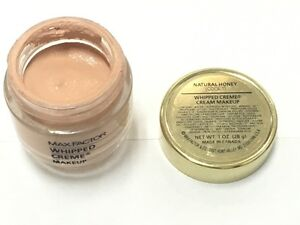 Max-Factor-WHIPPED-CREME-CREAM-Makeup-Cool-1-Natural-Honey-New