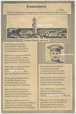 Methodisch Ak Neuhammer A. Queis, Schlesien-kosakenbrief Feldpost (247)