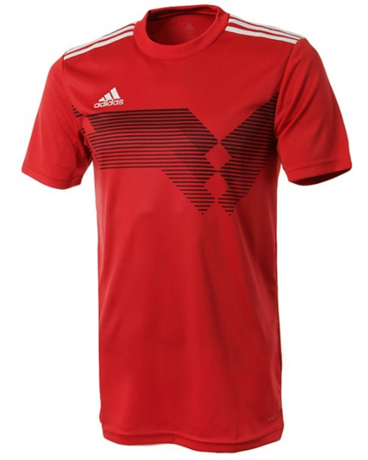 Adidas Youth  CAMPEON 19 S S Tee Shirt Running Training Red Kid Top Jersey DP3693  high quality & fast shipping