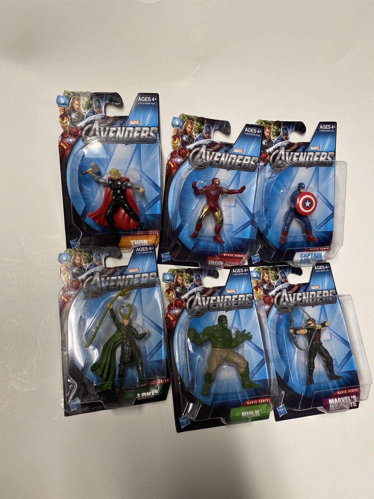 Marvel Avengers Movie Series Mini cifras completare Set primero Avengers Movie