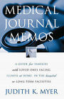 Medical Journal Memos by Judith K Myer (Paperback / softback, 2003)