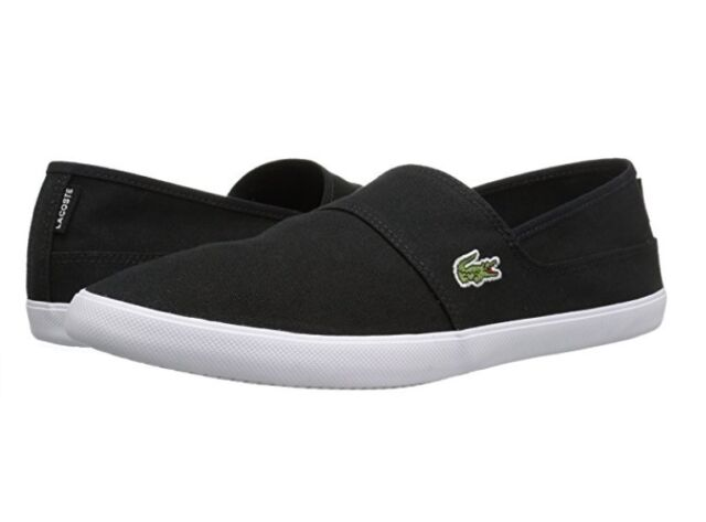 df97a0464f87 Lacoste Marice BL 2 Men s Croc Logo Casual Slip On Loafer shoes Sneakers  Black