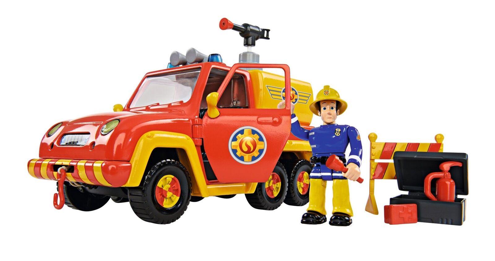 SIMBA 109257656 Fire Engine Set Fireman Sam-Venus with Figurine