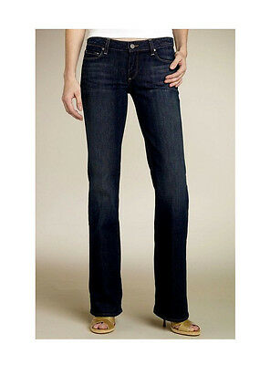 $182 PAIGE PREMIUM Jeans BENEDICT CANYON Womens 25 x 34 LONG TALL Denim DESIGNER