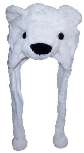Best Winter Hats Adult//Teen Animal Character Ear Flap Cap #716 Polar Bear