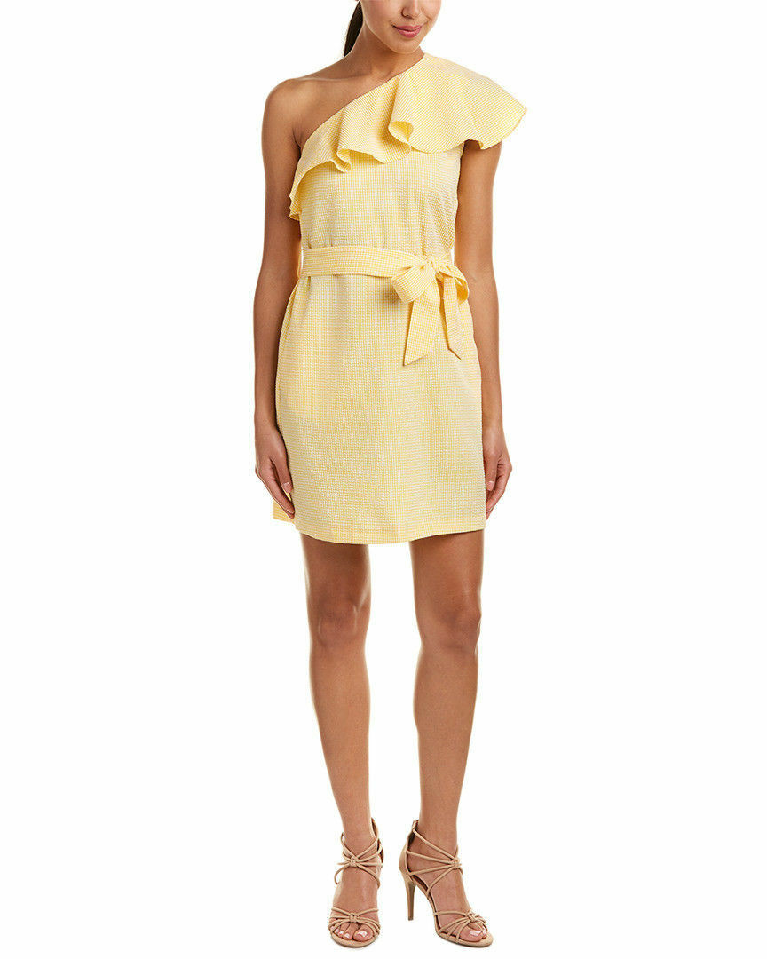 Anthropologie Anthropologie Anthropologie Size 4 Shift Dress women Morgan Sunny Yellow NEW c20d51