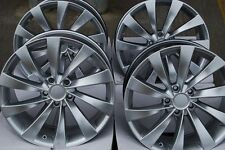 "18"" Cerchi in lega Si Adatta VW Caddy CC EOS GOLF PASSAT SCIROCCO TOURAN t4 TURBINA SIL"